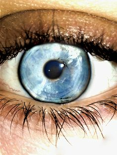 blue sky eye by AtticDisir on Etsy