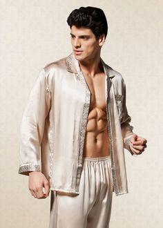 Majestic International Mens CVC end Basic Night Shirt