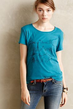 Afternoon Abroad Tee - anthropologie.com