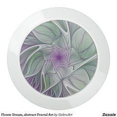 Flower Dream, abstract Fractal Art USB Charging Station