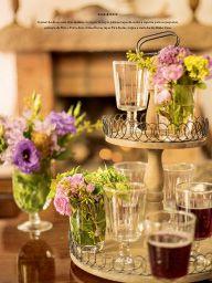 Idéia para decorar a mesa ou buffet !!! MF Mesas Finas Adora
