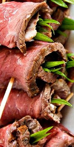 Beef Tenderloin Wraps ~ delicious appetizers