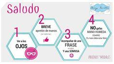 Saludo 👋#protocolo #etiqueta