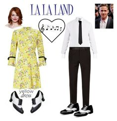 """La  La Land #2"" by deriaunayoung on Polyvore featuring Dolce&Gabbana, Versace and Stacy Adams"