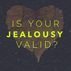Is Your Jealousy Valid? ~The Joy Junkie, Amy E. Smith