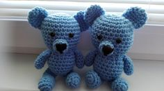 Stuffed Animals – Crochet Bear Boys – a unique product by MadamLove on DaWanda Pattern designed by Sharon Ojala.