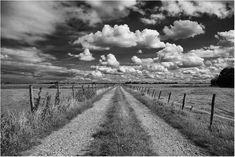 zwart wit fotografie ,landschap