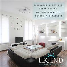 excellent interiors specializing in comprehensive interior detailing http://www.legendinteriors.in/