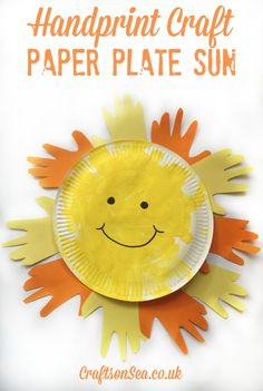 Plate Sun + Sun Crafts for Kids Handprint Craft: Paper Plate Sun - Crafts on SeaMotocross Kids Motocross Kids a. Moto X Kids is a 2004 film directed by Richard Gabai, distributed by Tag Entertainment. Summer Crafts For Toddlers, Toddler Crafts, Diy Crafts For Kids, Projects For Kids, Easy Crafts, Art Projects, Easy Diy, Craft Kids, Fun Diy