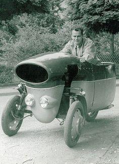 Vintage Three Wheel Bike.