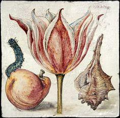 Dettaglio articolo 10622 botanical tiles - stand Recuperando #recuperando - available on recuperando.com