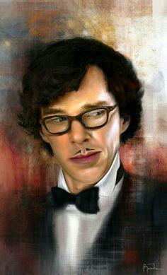 """Short Version - Not."" Raiecha (Raie Gray) on deviantART Sassy French Sherlock is my favourite Sherlock. Sherlock Holmes Bbc, Sherlock Fandom, Sherlock Fan Art, Sherlock Drawing, Watson Sherlock, Jim Moriarty, Sherlock Quotes, Sherlock John, Deviant Art"