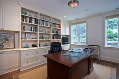 Home Office and Built In   2450 Surrey