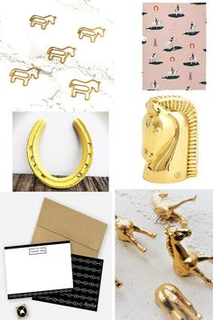 Girly office Supplies - Stock Your Office with These Equestrian Accessories.