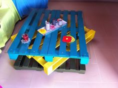Picture of Living Room Table from Wooden Pallets