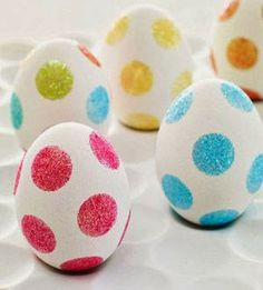 Easter Crafts: Painted Easter Eggs