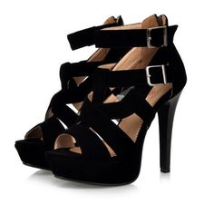 Super Sexy High-Heel Strappy Roman-Style Sandals 2 Colors