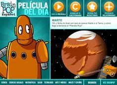 BrainPOP Latinoamérica - Un Sitio Educativo Animado para Niños con temas de Salud, Ciencias, Tecnología, Matemáticas e Inglés.