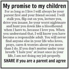 my promise to my children quotes quote family quote family quotes parent quotes mother quotes Love this every time I see it. Pretty much sums it up. My Children Quotes, Quotes For Kids, Child Quotes, Children Pictures, Kid Sayings, The Words, Life Quotes Love, Quotes To Live By, Tough Love Quotes