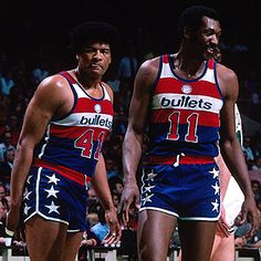Wes Unseld and Big E Elvin Hayes NBA Champions 1978.