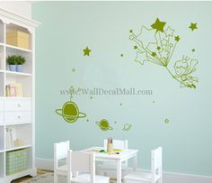 Moon Adventures Of The Little Prince Wall Decals – WallDecalMall.com