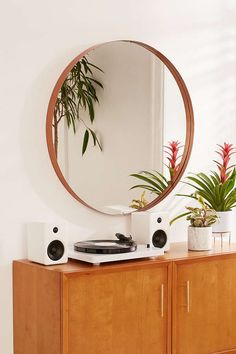Urban Outfitters Averly Large Circle Mirror
