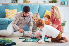 Photo about Happy young family playing board games together at home. Best Family Board Games, Board Games For Kids, Family Games, Family Activities, Best Games, Games To Play, Backyard Play, Children Images, Family Game Night