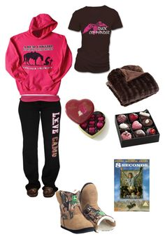 """My valentines consists of this!!! Me=forever alone LOL!!! :)"" by cowgirlbyheart ❤ liked on Polyvore"
