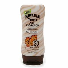 Hawaiian Tropic sunscreen. I wish they hadn't tinkered with the original scent, though.
