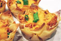 Skinny Hawaiian BBQ Chicken Cups