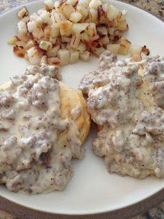 The Cookin' Chicks: Sausage Gravy w/ Biscuits
