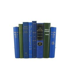 Blue Green Books , Vintage Books , Decorative Books ,  Wedding Decor ,  Photo Prop , Instant Library , Shabby Chic Wedding
