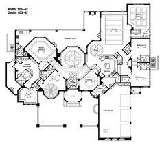 Citrus Hill Luxury Home House Plans