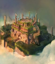ArtStation - DragonNest(2010)_BackGround_02, Seung Chan Lee
