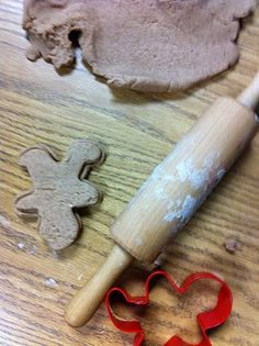 Gingerbread Playdough - Fairy Dust Teaching