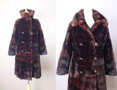 Vintage 50s Dark Chocolate Mink Coat // Small #vintage #vintageclothing #mink #minkcoat #vintagefur #furcoat