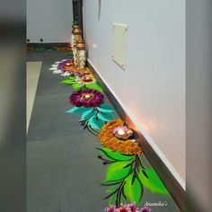 Rangoli Designs Latest, Rangoli Designs Flower, Rangoli Patterns, Colorful Rangoli Designs, Rangoli Ideas, Rangoli Designs Diwali, Rangoli Designs Images, Diwali Rangoli, Flower Rangoli