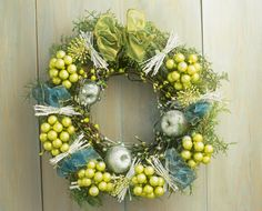 Looking for a Holiday Wreath? Consider One of These 10 Beauties!: Green Christmas Wreath