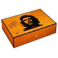 Elie Bleu Che Guevara humidor, for 110 cigars, orange