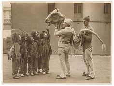 Child performers, c. 1920s-30s / by Sam Hood by State Library of New South Wales collection, via Flickr
