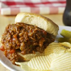 Ultimate Sloppy Joes. My thoughts: Mine came out a little... soupy, but it tasted great! I'm going to add a can of corn next time.