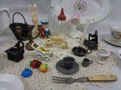 Vintage Dollhouse And Doll Miniatures by FairchildsInc on Etsy