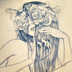 Petals and Split Ends - James Jean