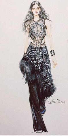 Alexander McQueen by @sonia_shao| Be Inspirational ❥|Mz. Manerz: Being well dressed is a beautiful form of confidence, happiness & politeness