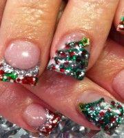 Christmas Nail Art 2013