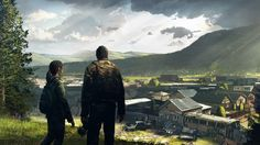 The Last of Us Ellie and Joel.
