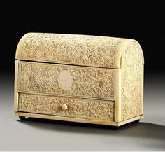 A Sinhalese ivory casket Sri Lanka, circa 17th century Sold at Sotheby's for 6,960 GBP .