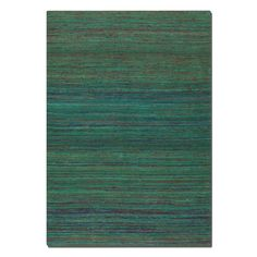 Uttermost Nivi Area Rug - Green - The Uttermost Nivi Area Rug - Green is rich in color and luxury. This area rug is hand-woven of viscose in over-dyed shades of green, blue,...