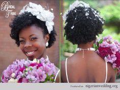 Nigerian wedding hair: 15 Gorgeous Hairstyles For The Natural Hair Brides |