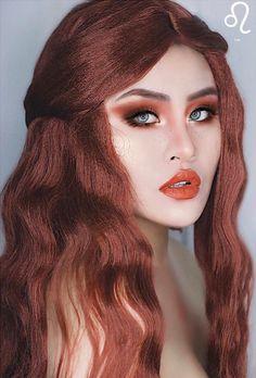 Leo Zodiac Makeup by Kimberly Money